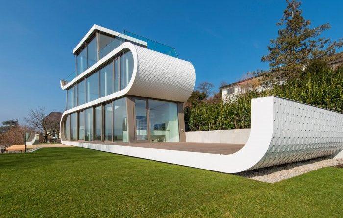 Къща от бъдещето: Футуристично и нестандартно!