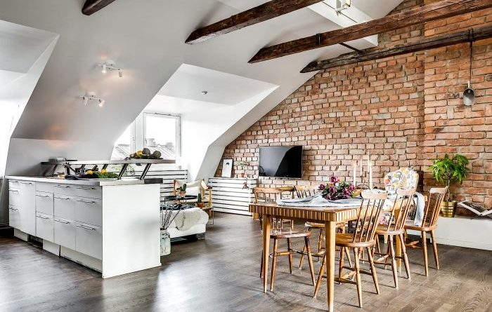 Уникален тавански апартамент!